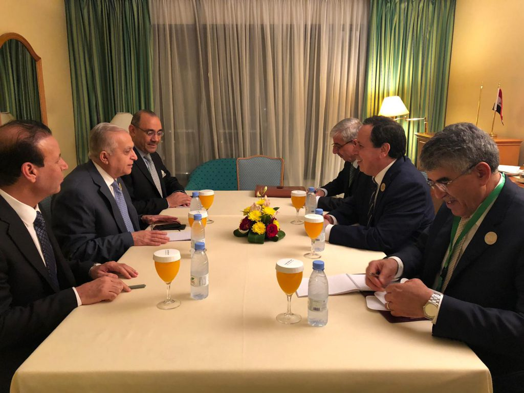 Foreign Minister Meets with his Tunisian Counterpart - Ministry of