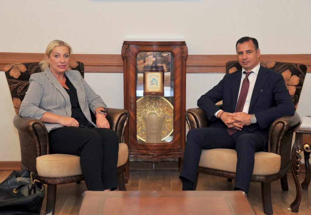 The head of the European Commission meets the Polish ambassador in Baghdad IMG_5899-1024x709