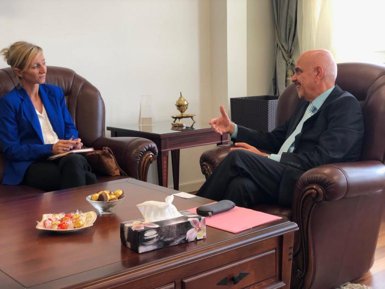 The Permanent Representative of Iraq in Geneva Meets Director of IDMC WhatsApp-Image-2019-07-15-at-2.07.54-PM-768x576