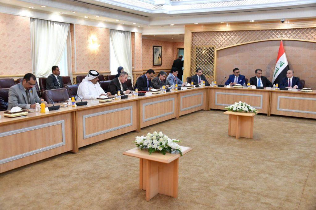 Foreign Minister meets Arab ambassadors accredited to Baghdad 37629e86-92fb-430e-ada8-f8d0c1024fad-1024x682