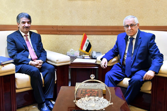 Undersecretary for Legal Affairs and Multilateral Relations meets Kuwaiti Ambassador in Baghdad 3b275572-9e65-4fce-ab1f-0a45eb7f0c6c