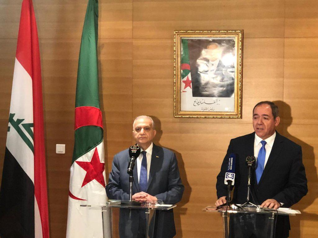 Foreign Minister meets with his Algerian counterpart Sabri Boukadoum 183c867f-e11d-4ddd-ad13-a5a8828cd552-1024x768