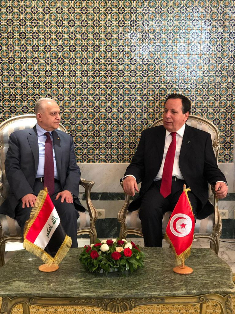 Foreign Minister Mohammed Ali al-Hakim heads the Iraqi side in the meetings of the Iraqi-Tunisian Joint Committee 1d502b41-1c3a-4882-b695-cf8847ac21b1-768x1024