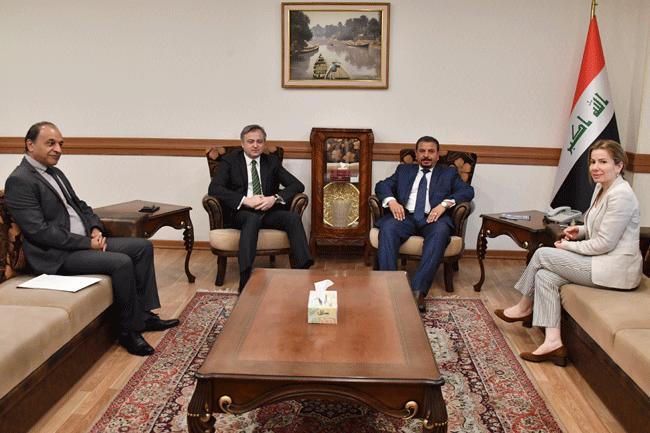 Deputy Head of the Department of International Organizations and Conferences meets Serbian Ambassador to Baghdad 34beb0b7-1516-4d8f-8f3a-404e2560d7e0