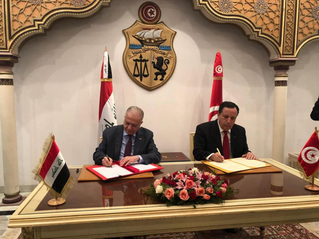 Foreign Minister Mohammed Ali al-Hakim heads the Iraqi side in the meetings of the Iraqi-Tunisian Joint Committee 6b1ba397-c96e-49ff-b39b-948d572e3027-1024x768