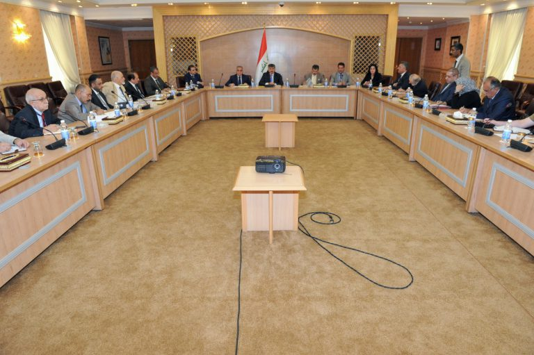 The Foreign Ministry hosts a consultative meeting of representatives of a number of ministries AIIJ0046-768x511