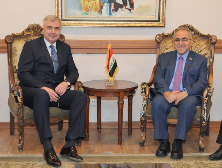 Iraqi Ambassador to Moscow Meets Russian President's Envoy to the Middle East and North Africa IMG_6264-768x580