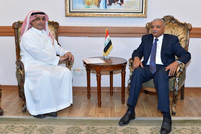 Head of Arab Department meets Saudi Ambassador to Baghdad IMG_6526