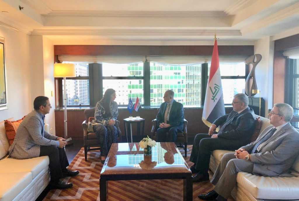 Foreign Minister meets with Dr. Rola Dashti, Executive Secretary of the Economic and Social Commission for Western Asia (ESCWA) A327bc33-f91a-486e-bb0a-c9e5589f17a4-1024x689