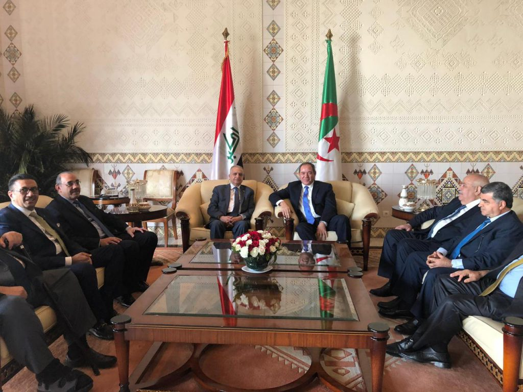 Foreign Minister meets with his Algerian counterpart Sabri Boukadoum C20ded3c-c615-4c1f-b37b-38a4fe99db70-1024x768