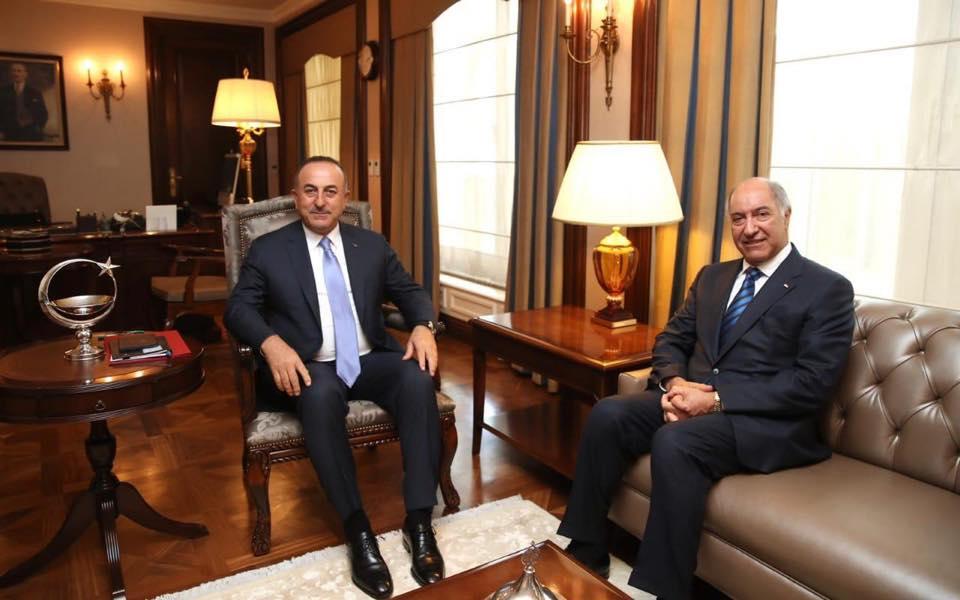 Iraqi Ambassador in Ankara Meets Turkish Foreign Minister 71348460_2137153846385724_7190585636523343872_n