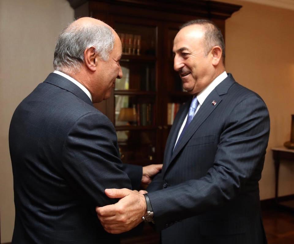 Iraqi Ambassador in Ankara Meets Turkish Foreign Minister 72306662_2137153833052392_1449220475040301056_n