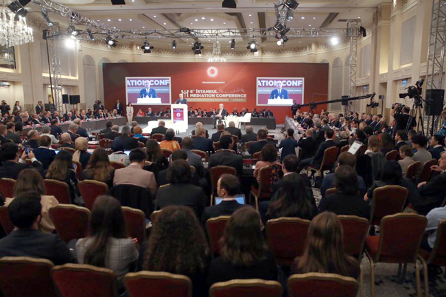 Foreign Minister participates in the 6th Istanbul Mediation Conference EIMWE_dW4AAh_Uy-1
