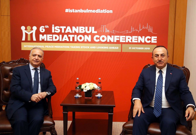 Foreign Minister participates in the 6th Istanbul Mediation Conference EIMo9khWsAEnIsb