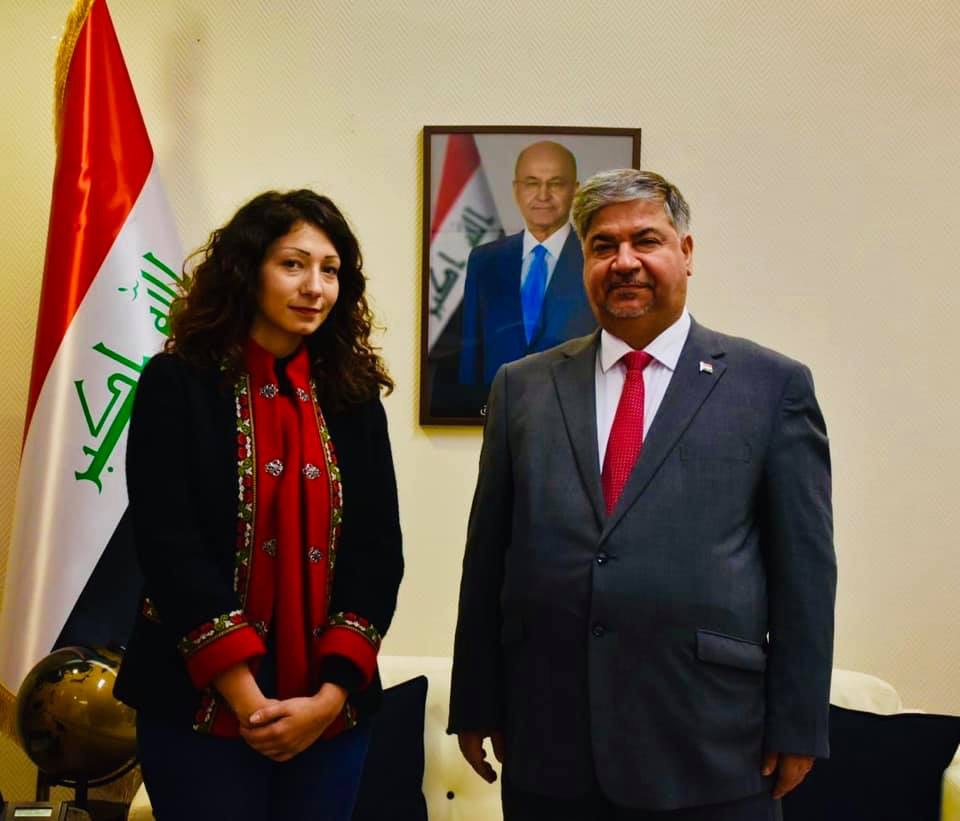The interim Iraqi charge d'affaires in Islamabad meets the Pakistani Foreign Secretary IMG_0049-04-10-19-02-01