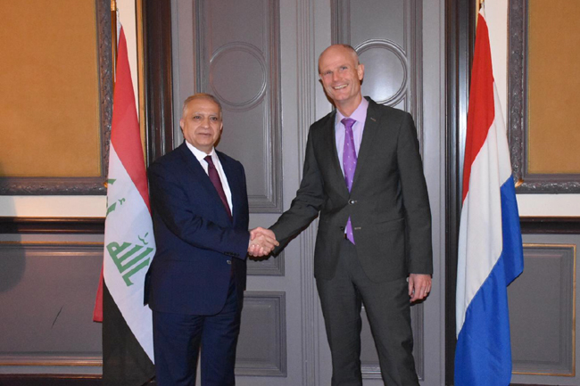 Foreign Minister meets his Dutch counterpart Steve Block LRNW2955