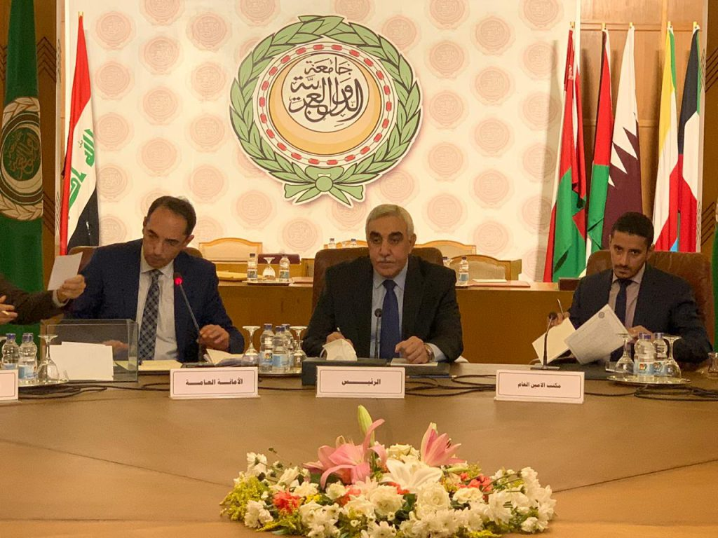 The Ambassador of the Republic of Iraq in Cairo chairs the meeting of the States Parties to the Arab Charter on Human Rights PHOTO-2019-10-03-11-26-08-1024x768