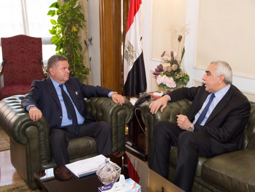 The interim Iraqi charge d'affaires in Islamabad meets the Pakistani Foreign Secretary PHOTO-2019-10-07-13-45-32-1024x770