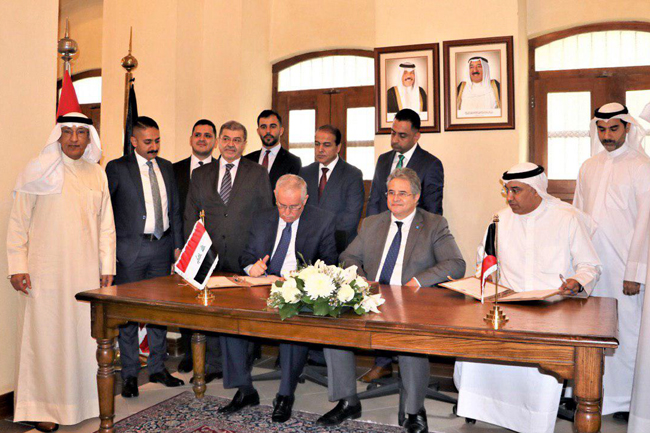 Kuwaiti delegation visits Iraq to finalize Kuwait-Iraq free market Photo_2019-10-27_16-20-17