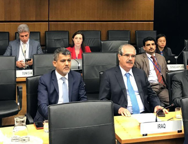 Iraq participates in the meetings of the Working Group on Administrative and Financial Affairs of the Interim Preparatory Committee for the Comprehensive Nuclear-Test-Ban Treaty Organization Photo_2019-10-28_14-58-21-1