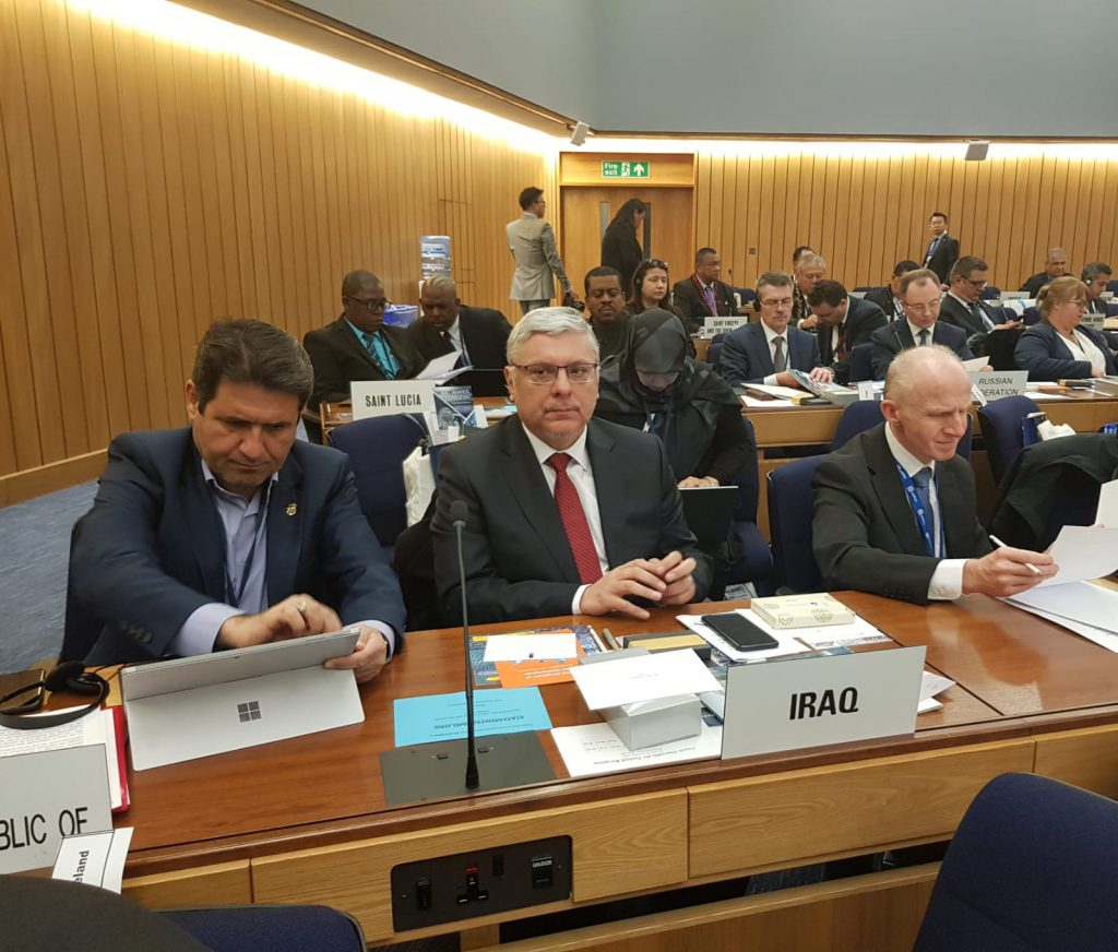 The Ambassador of the Republic of Iraq to London participates in the meetings of the IMO General Assembly 2-1-1024x872