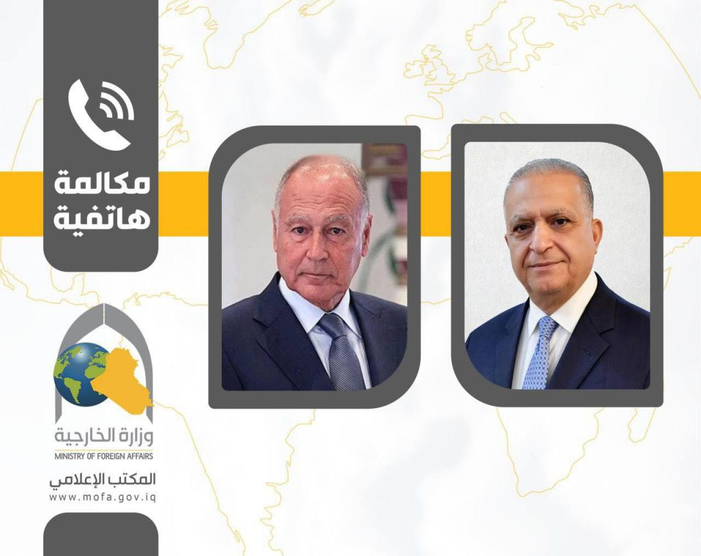Foreign Minister receives phone call from Arab League Secretary General 4c9cdaa2-1717-4337-8f13-0dc85d26f073-1024x812