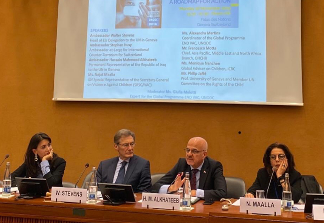 Iraq presents its actions on children affected by terrorism EJr7fJCWkAIip5w