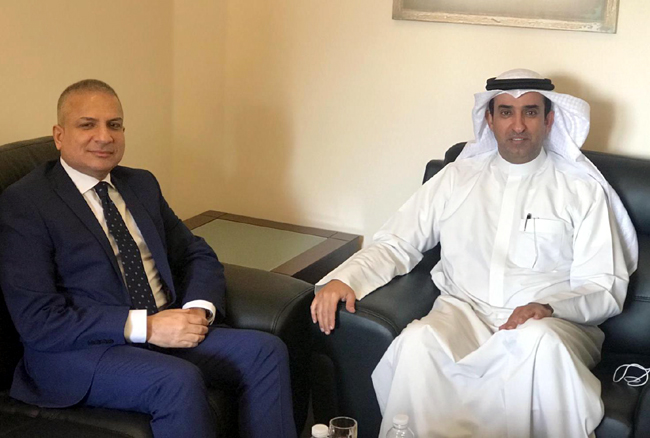 Chargé d'Affaires Mohammad-Reza Al-Husseini meets Deputy Assistant Minister of Foreign Affairs for Arab World Affairs IMG-20191114-WA0001