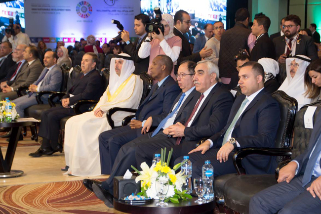 The Ambassador of the Republic of Iraq to Cairo participates in the activities of the Arab Week for Sustainable Development PHOTO-2019-11-04-13-36-29
