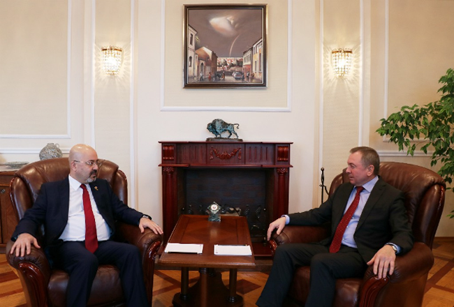 Iraqi Ambassador to Moscow Meets with Belarusian Foreign Minister Untitled-1