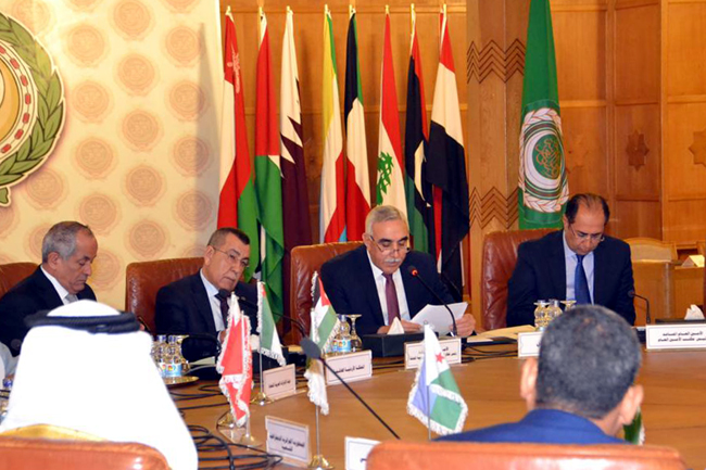 Iraq is president of the emergency meeting of the Council of the League of Arab States to discuss measures regarding Brazil opening a commercial office in Jerusalem PHOTO-2019-12-19-11-35-03-2
