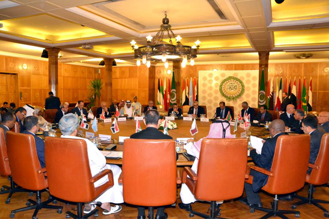 Iraq is president of the emergency meeting of the Council of the League of Arab States to discuss measures regarding Brazil opening a commercial office in Jerusalem PHOTO-2019-12-19-11-35-03-4