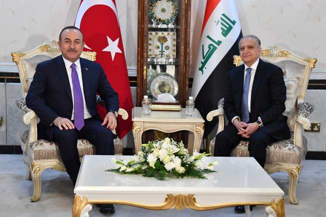 The Speaker of the Chamber of Deputies receives the Turkish Foreign Minister DSC_5015