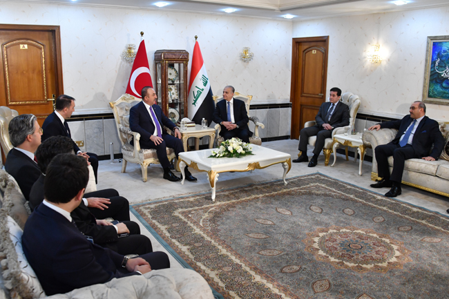The Speaker of the Chamber of Deputies receives the Turkish Foreign Minister DSC_5145