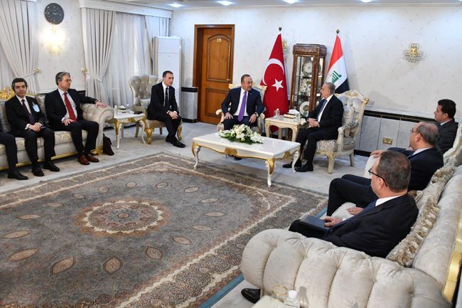 The Speaker of the Chamber of Deputies receives the Turkish Foreign Minister DSC_5147