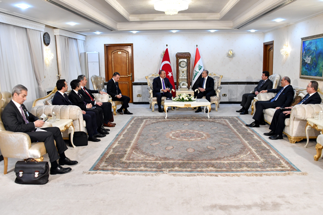 The Speaker of the Chamber of Deputies receives the Turkish Foreign Minister DSC_5179