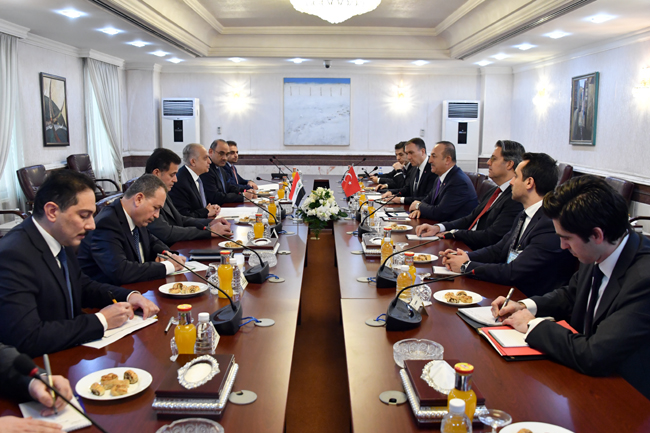 The Speaker of the Chamber of Deputies receives the Turkish Foreign Minister DSC_5338