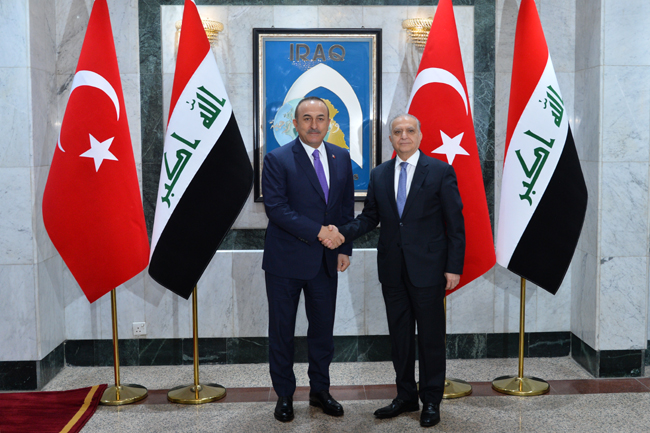 The Speaker of the Chamber of Deputies receives the Turkish Foreign Minister DSC_6444