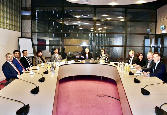 The Ambassador of the Republic of Iraq in The Hague meets members of the Foreign Relations Committee at the Dutch Parliament Building IMG_2666