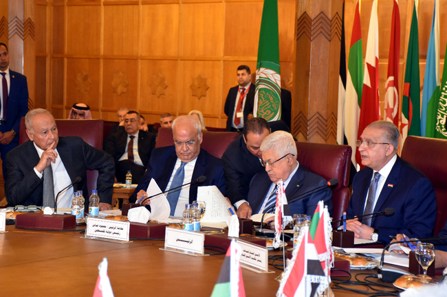 The Minister of Foreign Affairs speaks Iraq at the emergency meeting of the Arab League Council at the ministerial level WhatsApp-Image-2020-02-01-at-2.06.52-PM