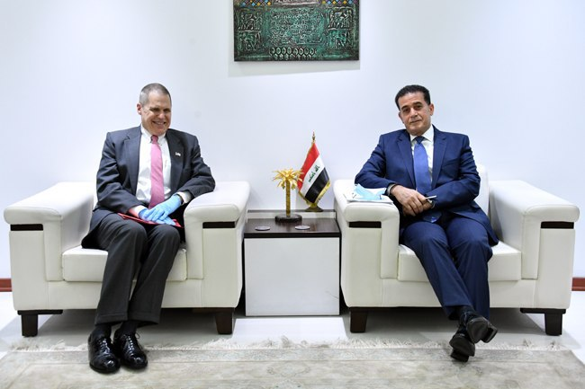 Spokesman for the Ministry of Foreign Affairs, Dr. Ahmed Al-Sahaf: 4B6A8B6B-04A7-4AFC-93F7-91F42EEC983F