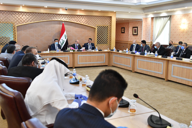 Foreign Minister Fuad Hussein: Iraq supports any Arab initiative that aims to serve our Arab societies and consolidate joint Arab action for a brighter future for our Arab countries DSC_0408