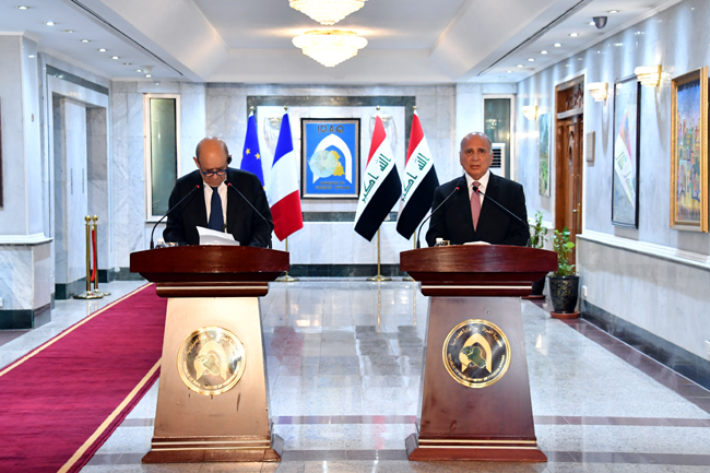 Joint statement between the Republic of Iraq and the Republic of France (Baghdad: July 16, 2020) 1-4