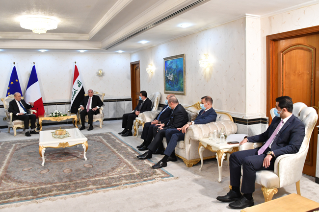 Joint statement between the Republic of Iraq and the Republic of France (Baghdad: July 16, 2020) 12