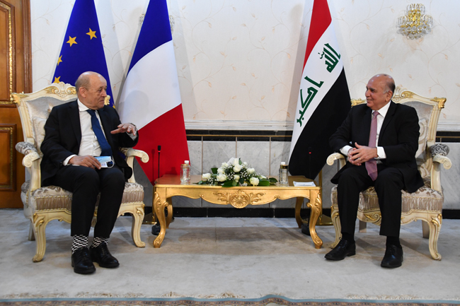 Joint statement between the Republic of Iraq and the Republic of France (Baghdad: July 16, 2020) 14