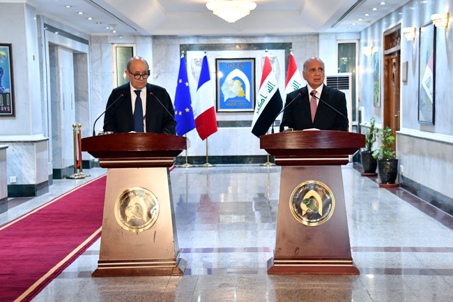Joint statement between the Republic of Iraq and the Republic of France (Baghdad: July 16, 2020) 19