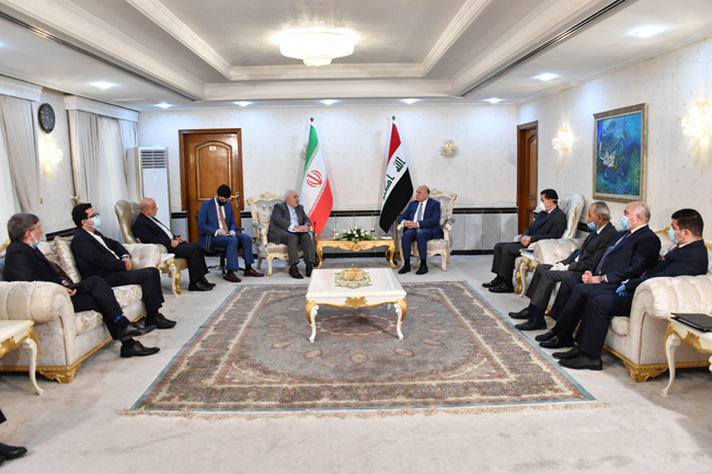 IRANIAN FOREIGN MINISTER VISITS BAGHDAD SUNDAY 20