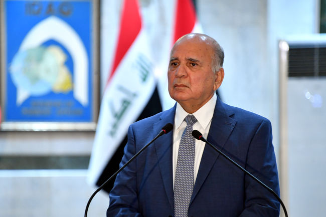 IRANIAN FOREIGN MINISTER VISITS BAGHDAD SUNDAY 24