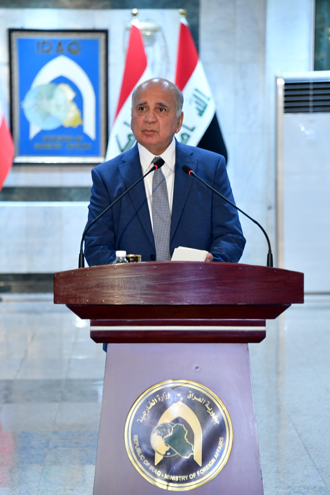 IRANIAN FOREIGN MINISTER VISITS BAGHDAD SUNDAY 5-4