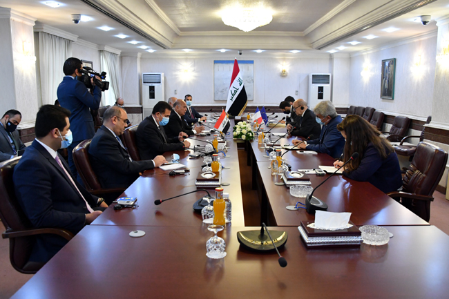 Joint statement between the Republic of Iraq and the Republic of France (Baghdad: July 16, 2020) 5